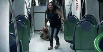 broma zombie en el Metro