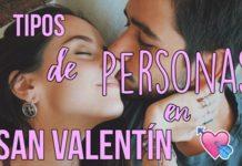 Tipos De Personas En San Valentín