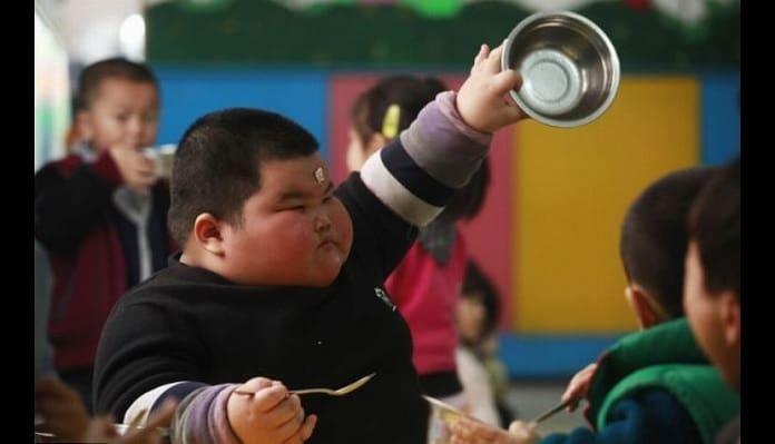 el niño chino gordo mas gordo del mundo