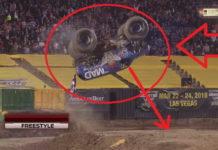 Camión Monstruo salto mortal