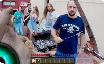 Minecraft En La Vida Real VideoPatas